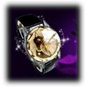 Blacky Heart Cat Watch (Schwarz) - Schwarze Katze mit Herz Quarz Armbanduhr