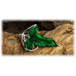 Galadriel Leaf Brooch of the Queen of elves for Legolas, Arathorn and the Hobbits