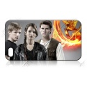 The Hunger Games - Freunde - Jennifer Lawrence, Josh Hutcherson, Liam Hemsworth - iPhone 5 Schutzhülle - Cover Case