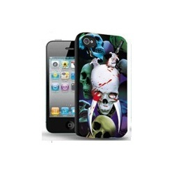 Totenkopf Schwert 3D Gothic Picture - Visual 3D Effect - iPhone 5 Schutzh?lle - High Quality - Cover Case
