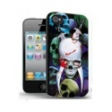 Totenkopf Schwert 3D Gothic Picture - Visual 3D Effect - iPhone 5 Schutzhülle - High Quality - Cover Case