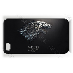 Got - Stark Wolf - Winter Coming - iPhone 5 Handy Schutzhülle - Cover Case
