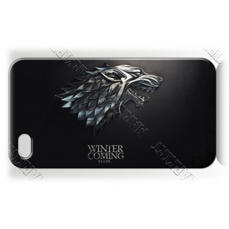 Got - Stark Wolf - Winter Coming - iPhone 5 Handy Schutzh?lle - Cover Case