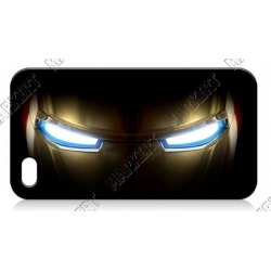 Iron Man Augen - iPhone 4 / 4S Handy Schutzh?lle - Cover Case