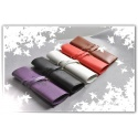 Twilight - Leather Case for Smartphone and Pens - iPhone 5 / 4 / 4S Protective Case - Leather Case