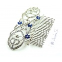 Bellas Wedding Jewelry Hair Comb Twilight Bride Crown
