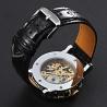 elegante Design Schauglas-Zahnraduhr WinnerPro Automatik - selbstaufziehend - Mineralglas