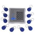 Berührungsloser RFID Türschloss, Toröffner , Türöffner, Zutrittskontrollsystem, Access Control System+10Stück Transponder DC 12V