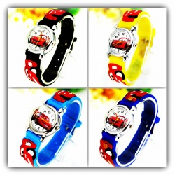 Kids Wristwatch Pure Time Children's Watch Car's Race Car