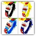 Kids Wristwatch Pure Time Children's Watch Car's Race Car