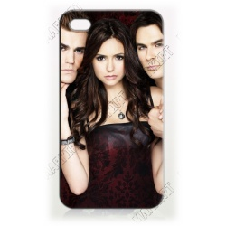 Vampire - Elena und Salvators - iPhone 4 / 4S Handy Schutzhülle - Cover Case