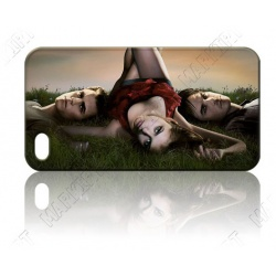 Vampires - Elena and Salvators on Meadow - iPhone 4 / 4S Phone Protective Case - Cover Case