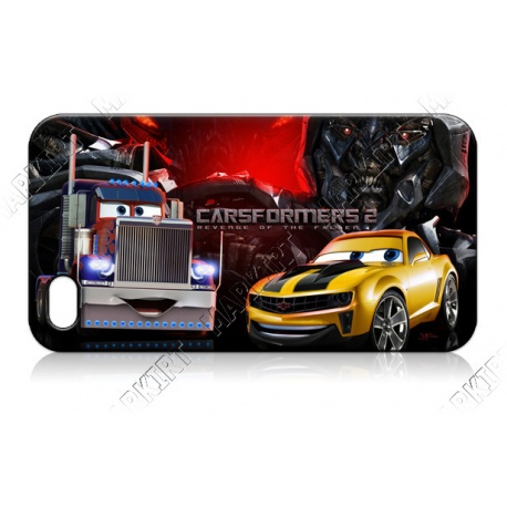 Car`s - Carsformer`s 2 - iPhone 4 / 4S Handy Schutzh?lle - Cover Case