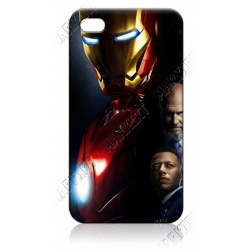 IronMan's Helmet and Friends - iPhone 5 Phone Protective Case - Cover Case