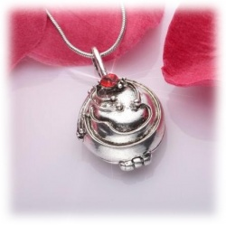 Elena Ironher Anti-Vampire Pendant with Necklace