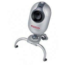 Sitecom VP-003 DE Easy Cam Webcam PC Kamera mit Monitorclip