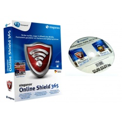Steganos Online Shield 365 VPN CD & Steganos Sicherheits-Suite 2013/14