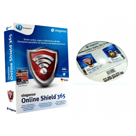 Steganos Online Shield 365 VPN CD