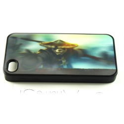 Pandaren Warrior - World of Warcraft Fashion - 3D Motif Multi-Stage - iPhone 4 / 4S Phone Protective Case