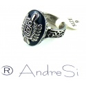 Vampire Damon Ring Daylight Ring, 100% Edelstahl, Diaries Punk Gothic Fashion