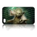 Yoda mit Laserschwert - iPhone 5 Handy Schutzhülle - Cover Case