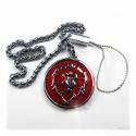 WoW - Alliance metal keychain with belt chain