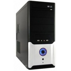 Midi Tower LC Power PC - Housing - 649BS with 420W Power Supply ATX Classic & 80mm Fan