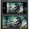 """Todesritter """"D?mon"""" mit Streitkolben - World of Warcraft 3D Motiv"""