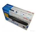 Genie 4-in-1 Starter Set LA 402 A4 Laminating device with 50 laminating foils, corner rounder and paper cutting ruler, black