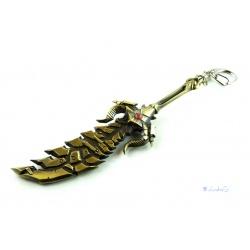 World of Warcraft - Todesritter Runen Schwert - Schlüssel- und Taschenanhänger