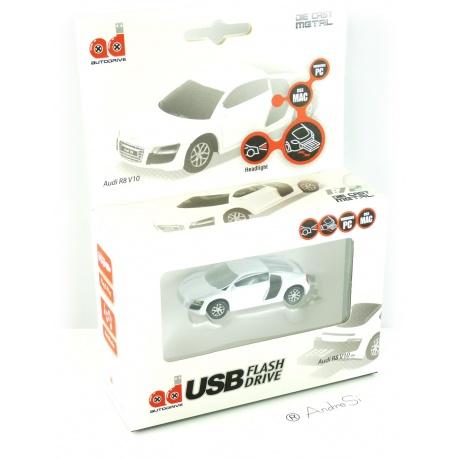Autodrive Audi R8 8 GB USB-Stick weiss