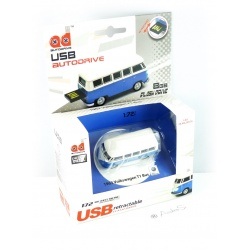 Autodrive VW Bus T1 Volkswagen Blue / White 8GB USB Stick