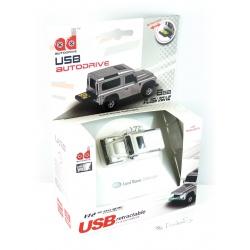 Autodrive Landrover Defender silber 8 GB USB-Stick