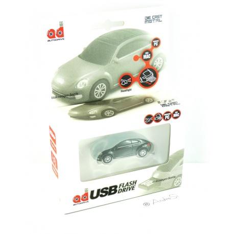 Autodrive VW New Beetle 8 GB USB-Stick im Auto-Design USB 2.0 schwarz