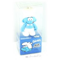 Tribe Koch-Schlumpf 4GB Speicherstick USB 2.0 blau/weiß