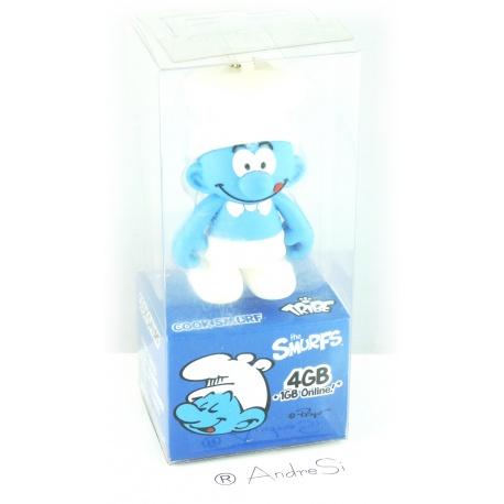 Tribe Koch-Schlumpf 4GB Speicherstick USB 2.0 blau/wei