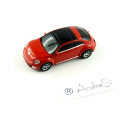Autodrive VW New Beetle 8GB USB Stick in Car Design USB 2.0 Red/Black
