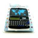 12 Sprachenübersetzer FX2 mit 12 Sprachen, 60000 Wörtern, schwarz