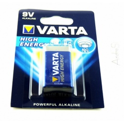 VARTA High Energy Type PP3 - 9Volt Block