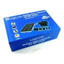 LogiLink Universal Solar Ladegerät mit Lithium-Ionen Akku 1500 mAh mit LED Lampe