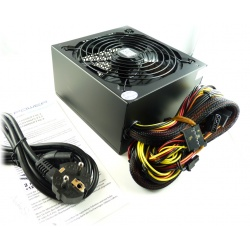 LC Power LC6550GP2 V 2.2 - 550W Silent Giant Power Supply with 140mm Fan