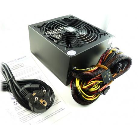 LC Power LC6550GP2 V 2.2 - 550W Silent GiantNetzteil mit 140mm-L?fter