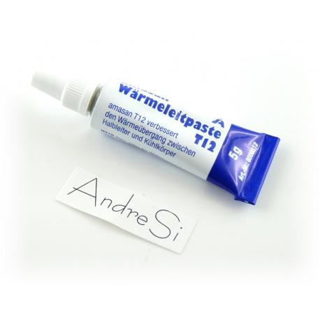 Amasan W?rmeleitpaste - 5 Gramm Tube, weis