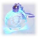 Wappen der Horde oder Allianz - Schlüsselanhänger aus Kristallglas
