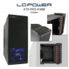 LC Power ATX Pro-Line - Gaming Pro-916BII - ohne NT ATX Pro-Line - Gaming Gridder 4x USB, HD Audio / AC97