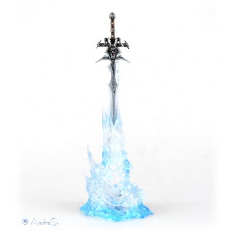 WOW Frostmourne Lich King Arthas Schwert in Kristall, Spielzeug Dekoration