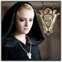 Twilight New Moon Replica Necklace Volturi Coat of Arms Pendant