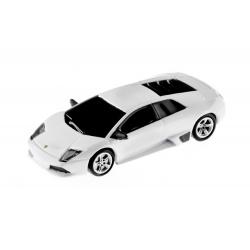 Autodrive Lamborghini Murcielago weiß 8 GB USB-Stick mit leuchtenden Scheinwerfern