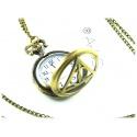 Heiligtümer des Todes Uhr mit 78cm Halskette