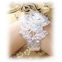 Elven Bangle - Aryas Rose - made of 925 sterling silver - finely chiseled Elbe craftsmanship